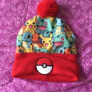 Pokémon Winter Pom Hat cap